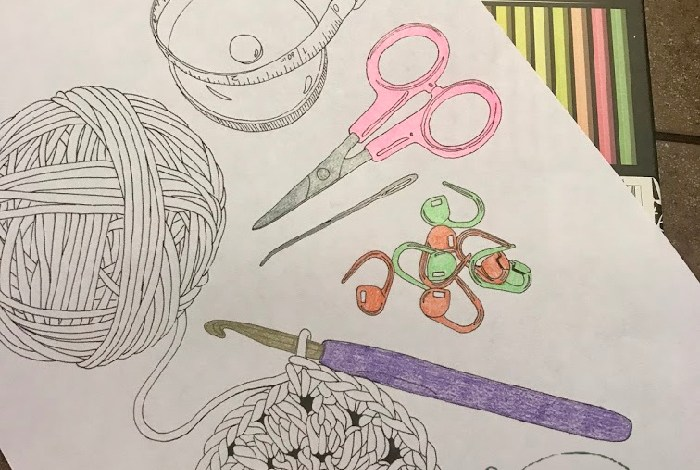 Free Coloring Crochet Pages Review