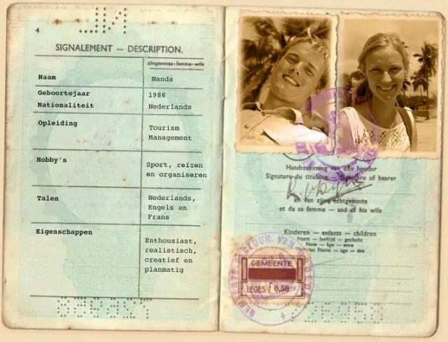 Paspoort Nanda & Reüel
