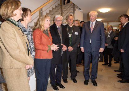 BP Steinmeier - u.a. mit MP Seehofer