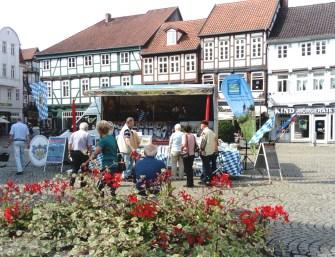 Unser Stand auf dem Großen Plan in Celle x