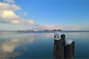 Fraueninsel im Winter -©Chiemsee-Alpenland Tourismus