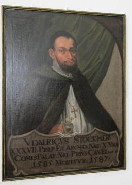 """Gemälde """"Dompropst Ulrich Stocker"""", Augustiner-Chorherrenstift Herrenchiemsee"""