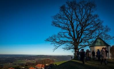 Aussichtskapelle - blauer Himmel 2