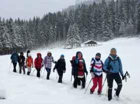 Winterwandern und Jodeln auf der Kaeseralm IV