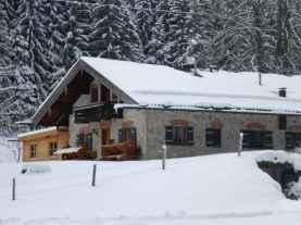 Winterwandern und Jodeln auf der Kaeseralm VII