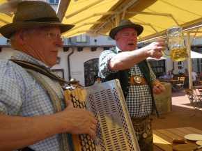 kl-Sepp Kaindl und Bog Hugel in Andechs