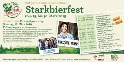 Starkbierfest Banner 2019