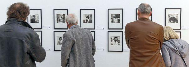 """Blick in die Ausstellung """"menschenskinder"""", Saal 2 © Foto: Martin Weiand 2018"""
