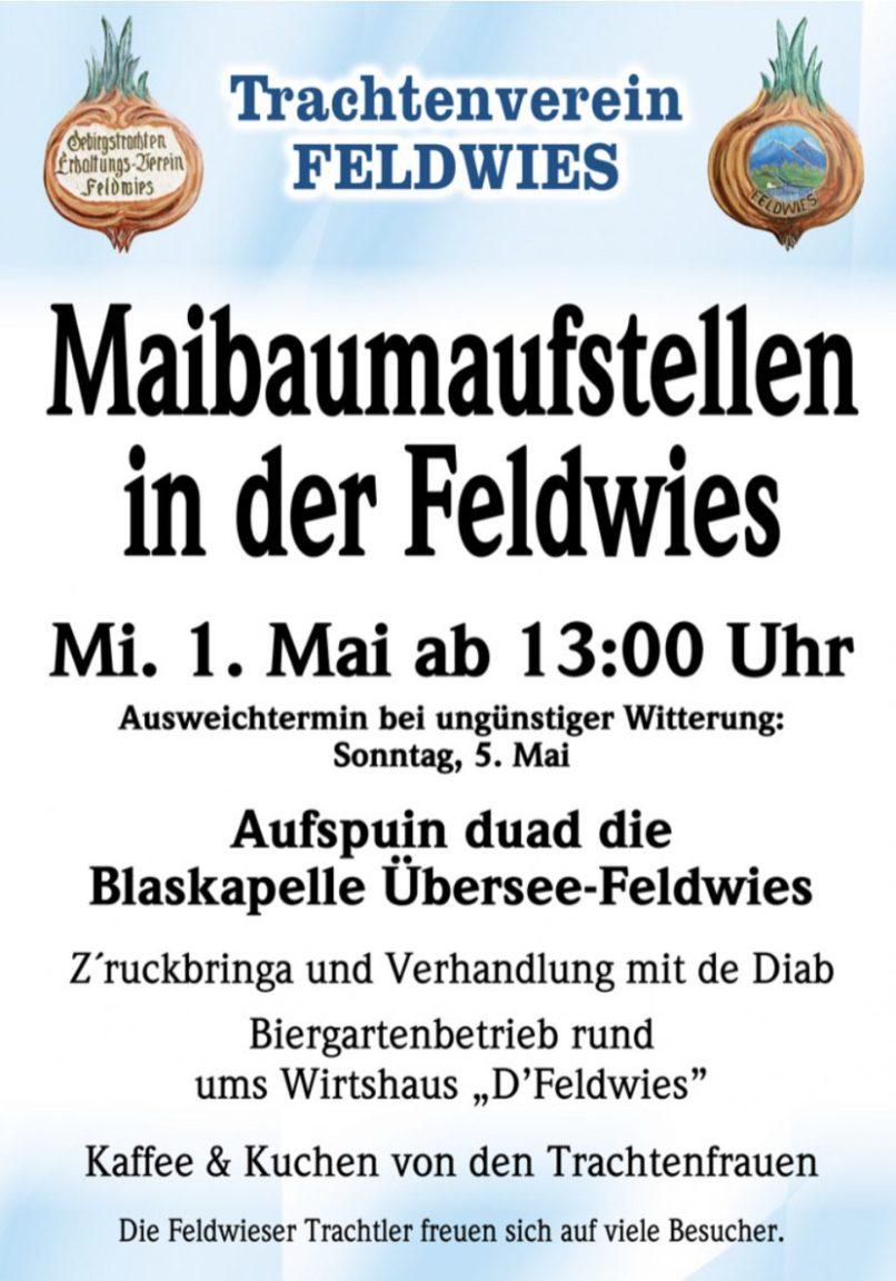 Feldwies Maibaum