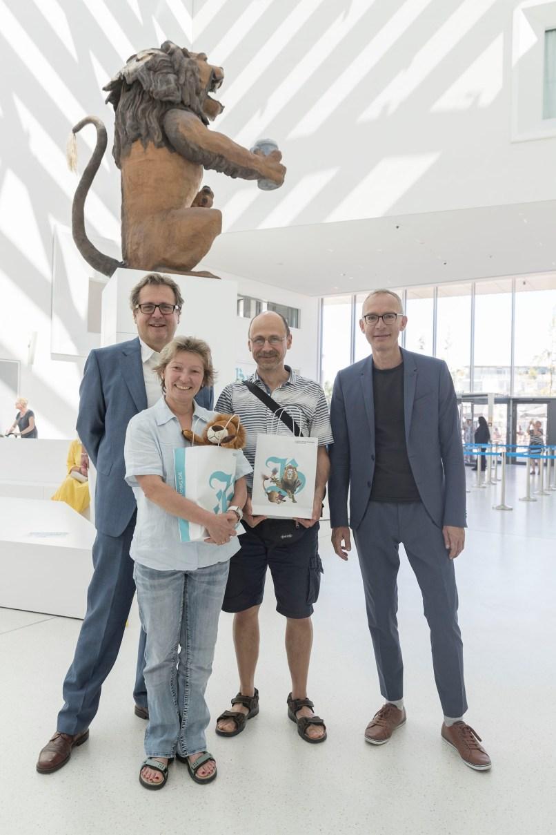 150.000 Museumsbesucherin Stuber im Haus der Bayerischen Geschichte Regensburg Foto: altrofoto.de