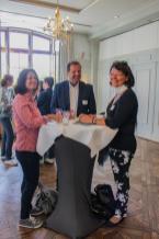 v.l.n.r. Astrid von Rauhecker (Chiemsee Alpenland Tourismus), Werner Schmid (gwt Starnberg) und Marion Tippmann-Böge (Tourismus- und Kulturmanagement Staudach-Egerndach)