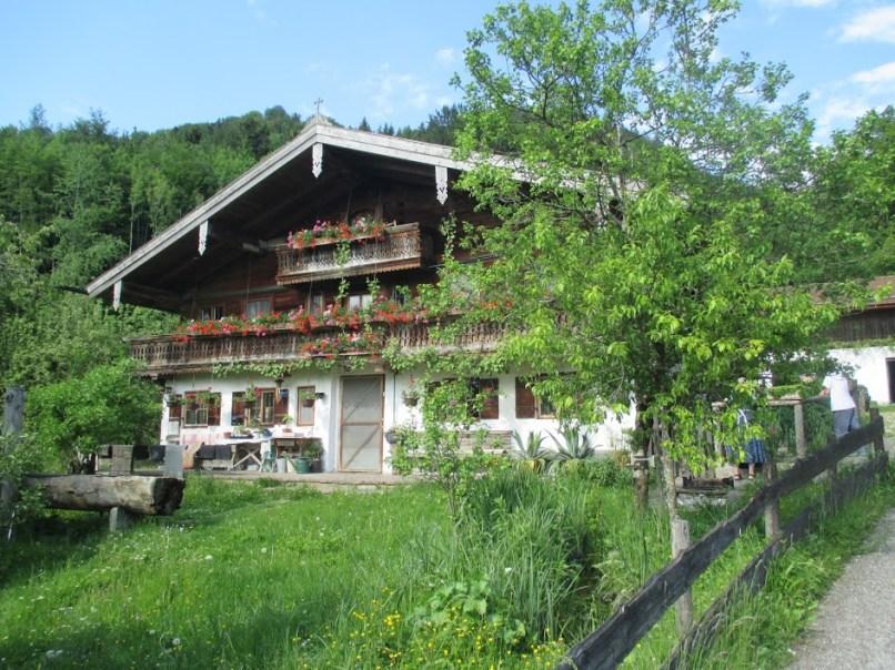 Bauernhaus oberhalb Unterwössen