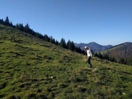 Irlberg Anstieg