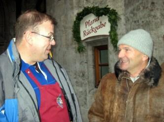 Entenwirt und Sepp Krätz