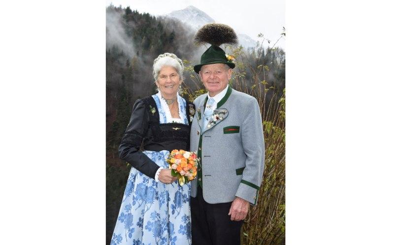 Goldene Hochzeit Der Eheleute Lotte Und Peter Eicher