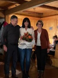 Elisabeth Antretter mit Wolfgang und Monika Sattelberger
