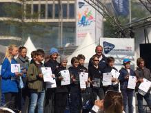 Siegerehrung Hamburg Team Race, CYC Sieger