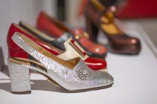 Made in Rosenheim Schuhe aus den 70ern Leihgaben Gabor Shoes AG Foto Martin Weiand