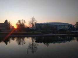 Sonnenuntergang beim Prienavera