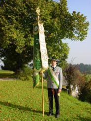 Fahne in Ruhe