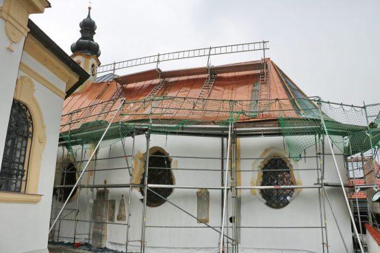 aschau renovierung dach Kreuzkapelle01
