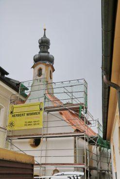 aschau renovierung dach Kreuzkapelle02