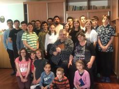 Familie Mihai mit Kindern