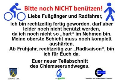 Radweg Infos
