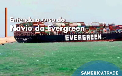 Entenda o caso do navio Evergiven da Evergreen