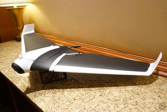 CES2016_Parrot sabit kanatlı drone modeli Disco'yu tanıttı