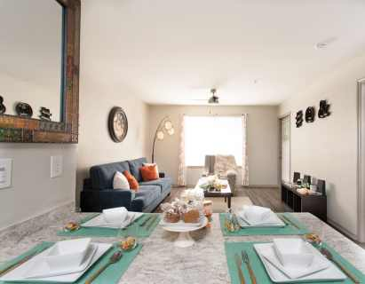 Dining & Living Area