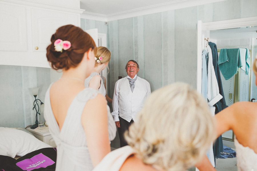 father of the bride photographs