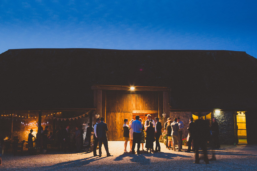 barn wedding dorset