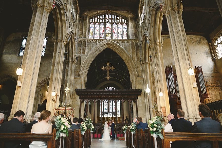 cirencester church wedding photographs