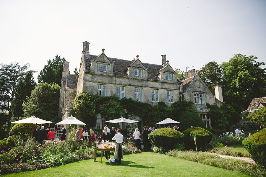 guests arrive at barnsley house by sam gibson