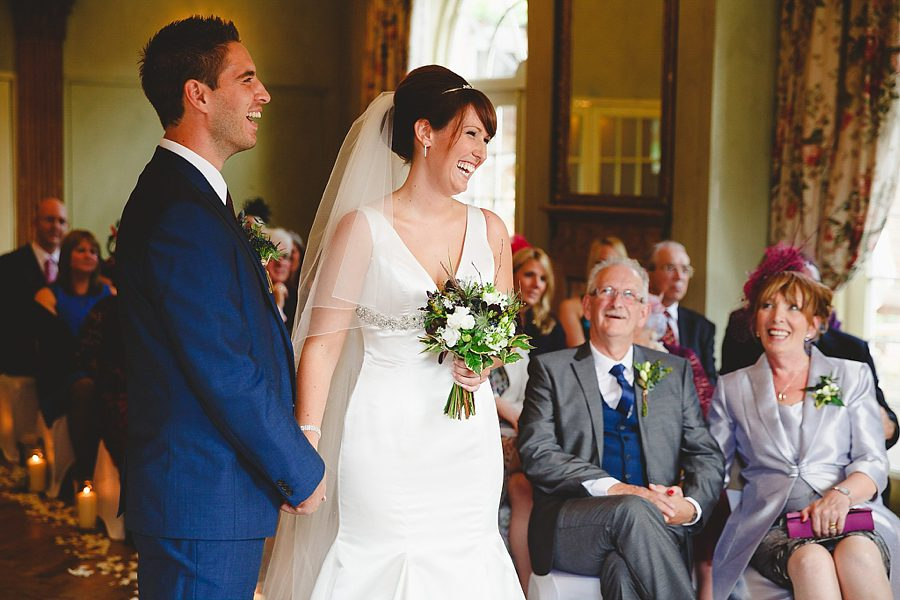 wedding ceremony at charlton house hotel