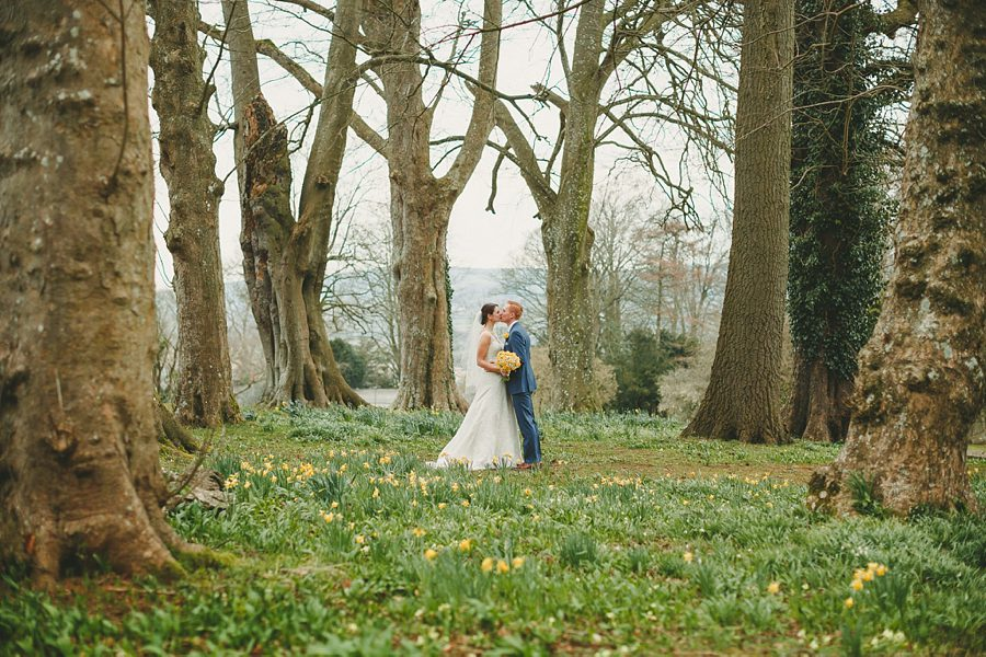 bride and groom portrait at a hampshire wedding