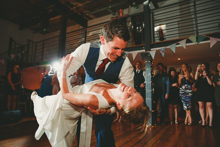 wedding first dance at ss great britain bristol