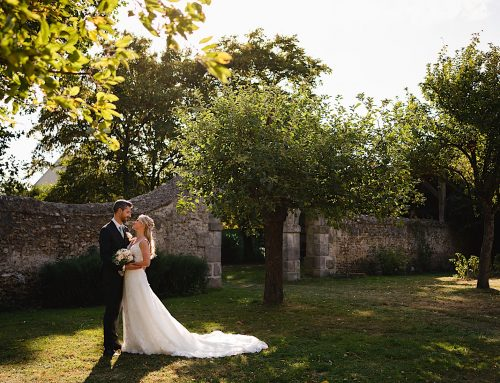 A Manoir de Vacheresses wedding in France