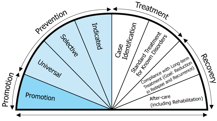 The Behavioral Health Continuum Model