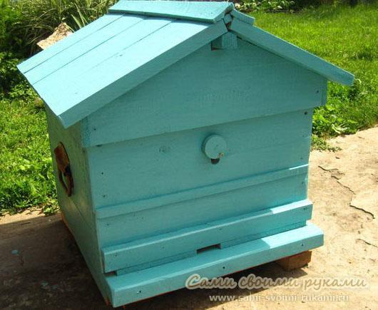 Как сделать улей для пчел фото мастер класс Сами