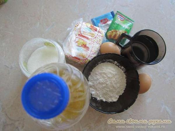 Пирожки с творогом и курагой, как приготовить - рецепт ...