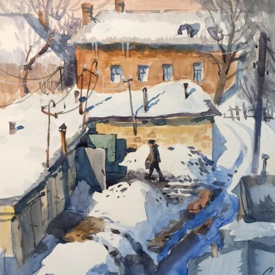 Samira Yanushkova Winter