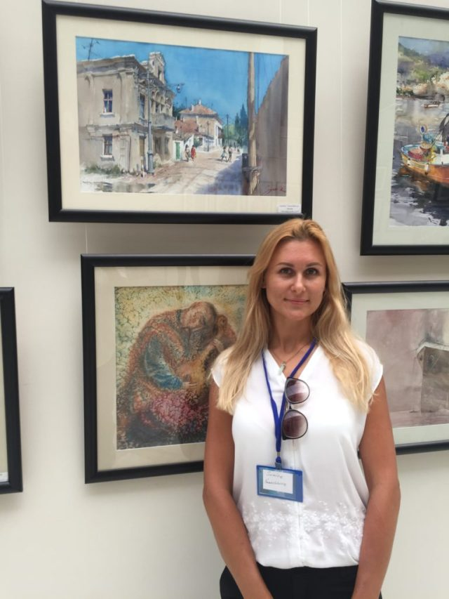 International watercolor exhibition Ukraine 2018