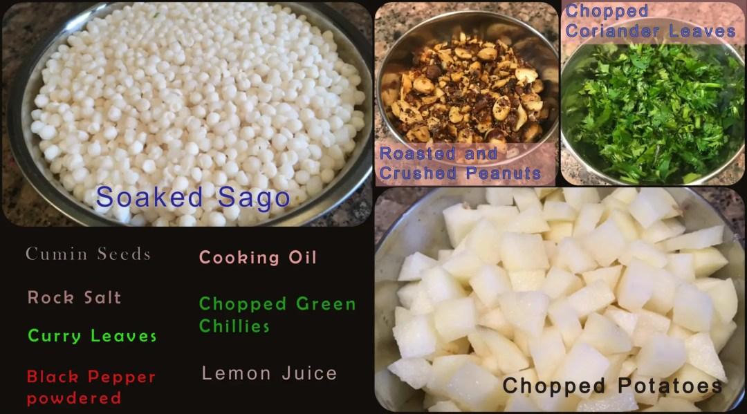 Sago/Tapioca Pearls/Sabudana Upma/Khichdi