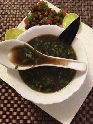 Kala Chana Soup/ Bengal Gram Soup