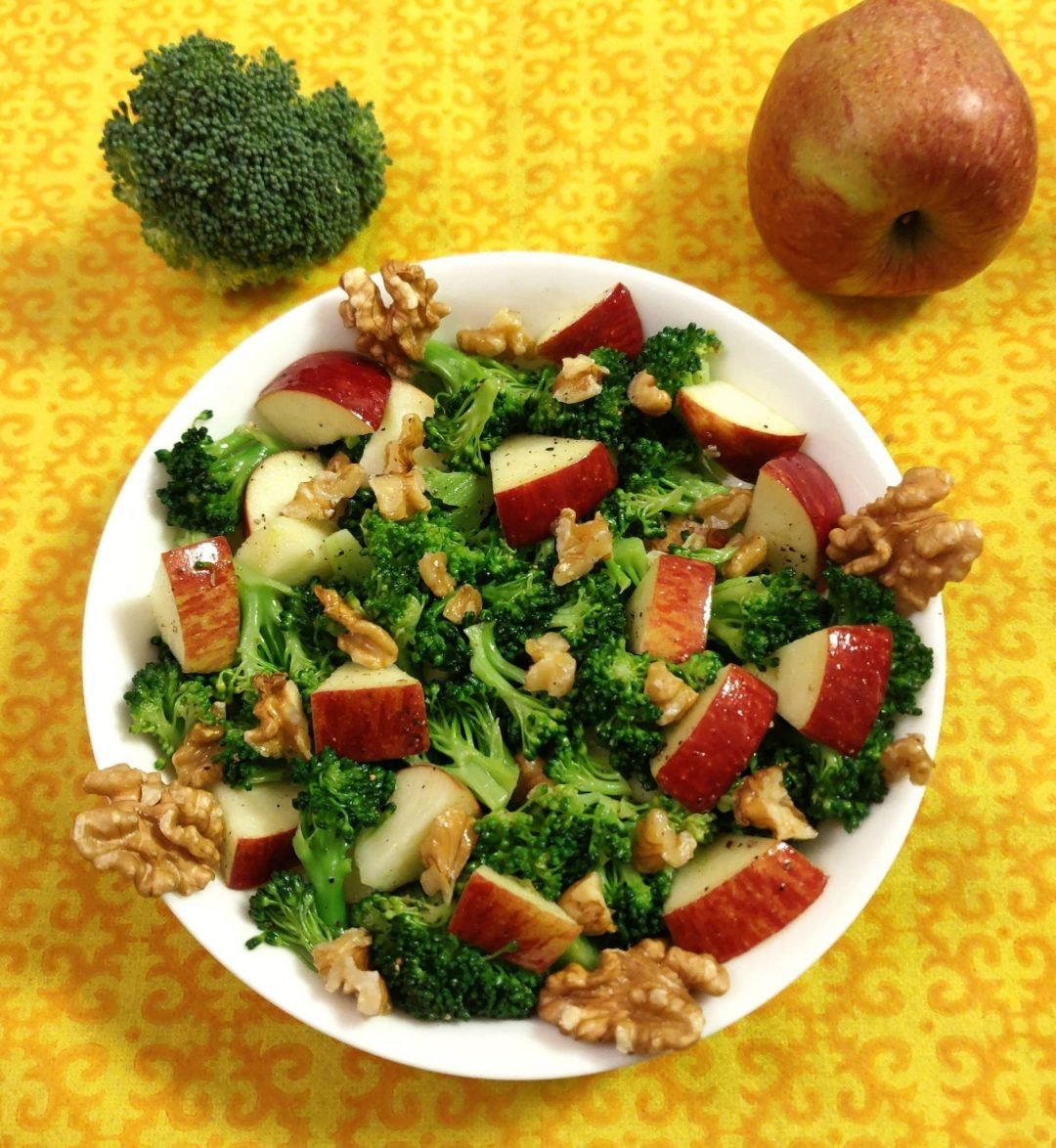 Broccoli Apple Salad Without Mayo