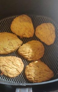 Millet Cookies In Air Fryer
