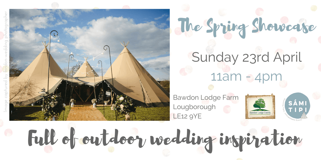 Sami Tipi Spring Showcase at Bawdon Lodge Farm
