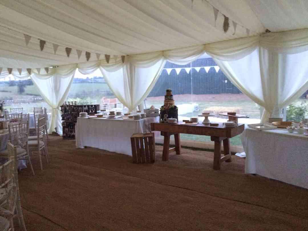 Barford Top Tipi Wedding Site 1